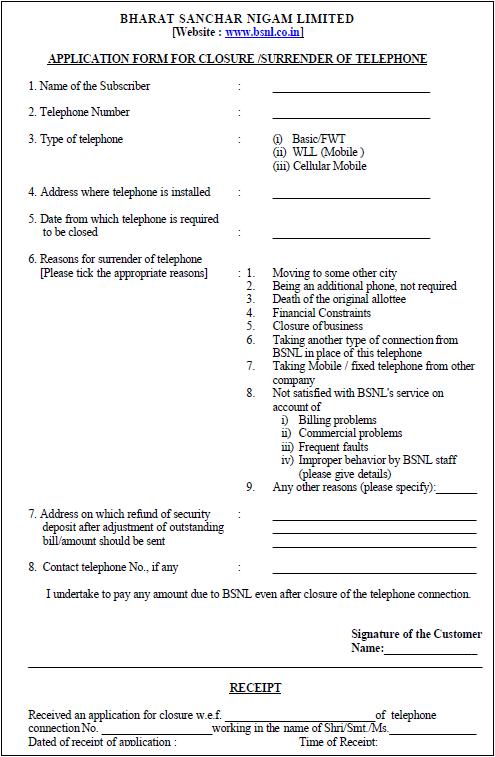 Download bsnl broadband cancellation form online in pdf bsnl broadband cancellation form online spiritdancerdesigns Gallery