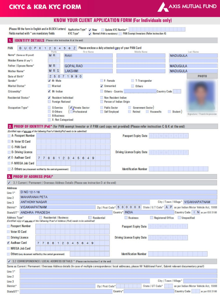 axis mf kcy form for individuals sample 1