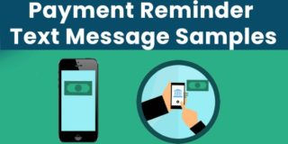 Short Payment Reminder Text Message Samples